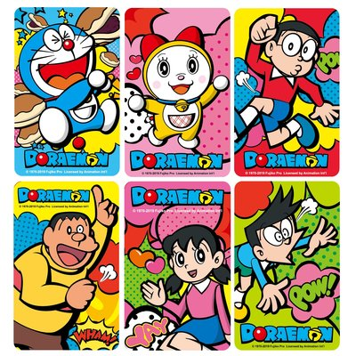 Doraemon哆啦A夢小叮噹與好朋友友達系列悠遊卡(不分售)