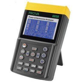 【電子超商】TES PROVA 6830 電力品質分析儀 (1000A) 適用各種電力系統