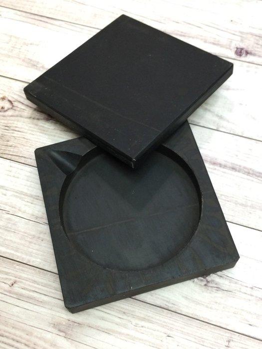 正大筆莊『學生硯 3.3吋 方形』初學用硯台 練習用 硯台 外方內圓
