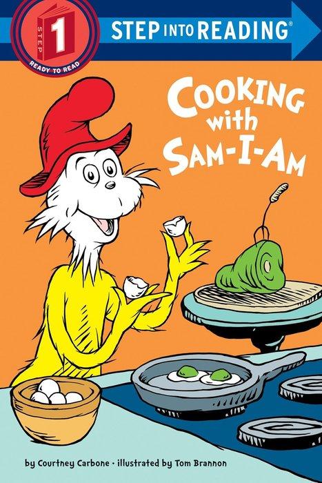 *小貝比的家*STP COOKING WITH SAM I AM /L1/平裝/3~6歲