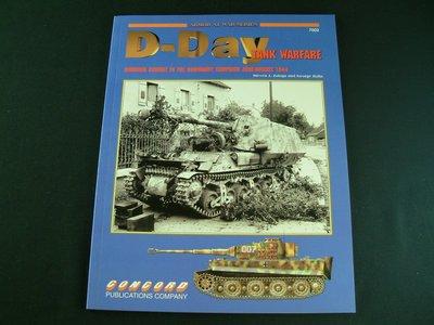 D-DAY TANK WARFARE  CONCORD BOOK