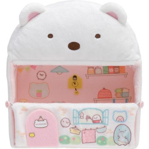 日本角落生物絨毛場景擺飾房屋 白熊家 沙包娃娃  遊戲場景 角落小夥伴