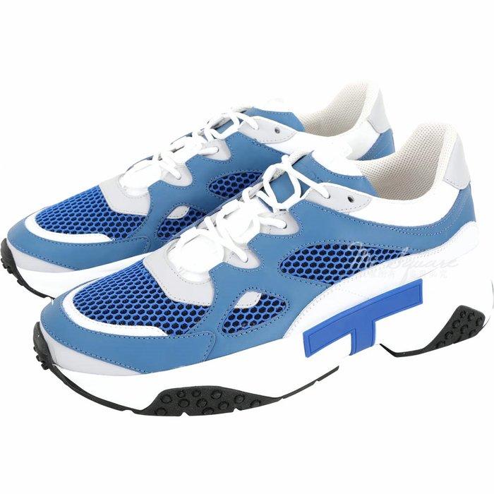 米蘭廣場 TOD'S 高科技網面料拼接老爹鞋(男款/藍色)1920653-23