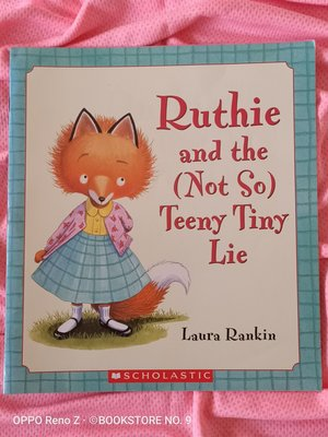 *NO.9 九號書店* Ruthie and the (not so) Teeny Tiny Lie  英文繪本童書