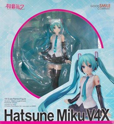 日本正版 GSC 初音未來 MIKU V4X 1/8 模型 公仔 日本代購