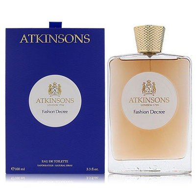ATKINSONS FASHION DECREE 時尚法則 EDT 100ML