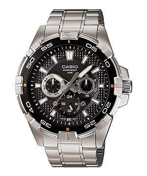 [ㄚ寶3C ] CASIO MTD-1069D-1AV 潛水風計時轉盤指針三眼運動錶.100米防水.(附台灣原廠保證書) 台南市