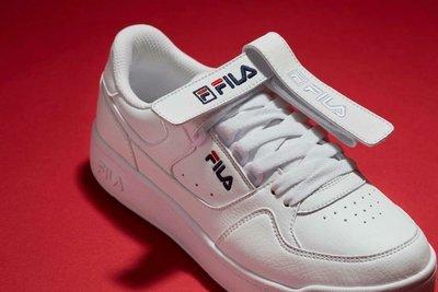 【Luxury】韓國 FILA FX-VELTRAP 雙魔鬼氈 外掛式休閒鞋 黑 白 粉三色可選 吊牌鞋 魔鬼氈