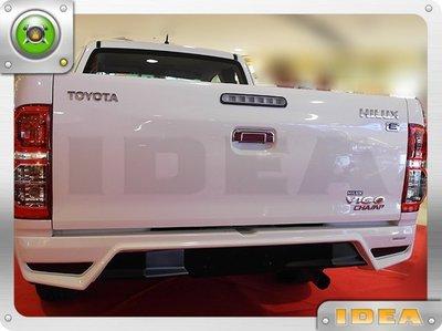 泰山美研社 E0013 TOYOTA HILUX 車款 後保險桿套件 國外進口