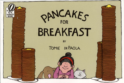 *小貝比的家*PANCAKES FOR BREAKFAST/平裝/3~6歲/無字書 Wordless Book