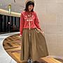 山東:GRAMICCI × BEAMS BOY / 夏季折扣款 基礎系列傘狀立體腰帶長裙 200723