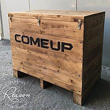 Reason 展覽用木箱 客製尺寸 出口使用可熱處理-報價請參考關於我 (可代刻噴字-有染色)