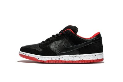Nike Dunk Low Pro SB Black Cement Bred 黑红 休閒板鞋 男鞋 304292-050