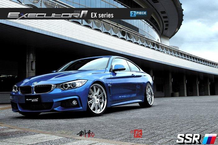 SSR EXECUTOR EX05 精緻鋁圈 BMW/BENZ/SUBARU/LEXUS/ 歡迎詢問 / 制動改