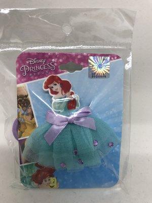 日本 正版迪士尼小美人魚紗裙綁髮飾