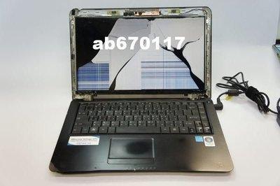 台北光華現貨((專業筆記型面板維修)ASUS 華碩 P2650L 液晶螢幕 液晶面板壓破 裂 摔壞 現場維修免留機