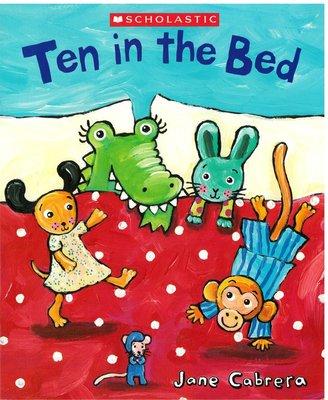*小貝比的家*TEN IN THE BED/平裝/2-3歲幼幼班/童謠韻文