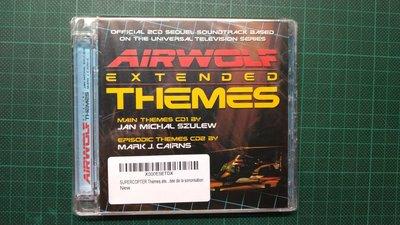 飛狼 AIRWOLF EXTENDED THEMES 2CD全新品 免運費 可議價