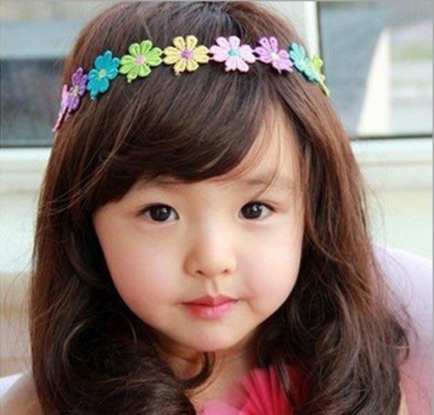 【現貨I】七連珠寶寶髮帶嬰幼兒頭飾兒童髮帶韓國髮帶寶寶髮箍