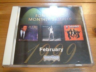 牧羊人--西洋合輯/Sony Music Monthly Sampler 1999.2 魔法精靈 胡立歐 瑪麗亞凱莉..