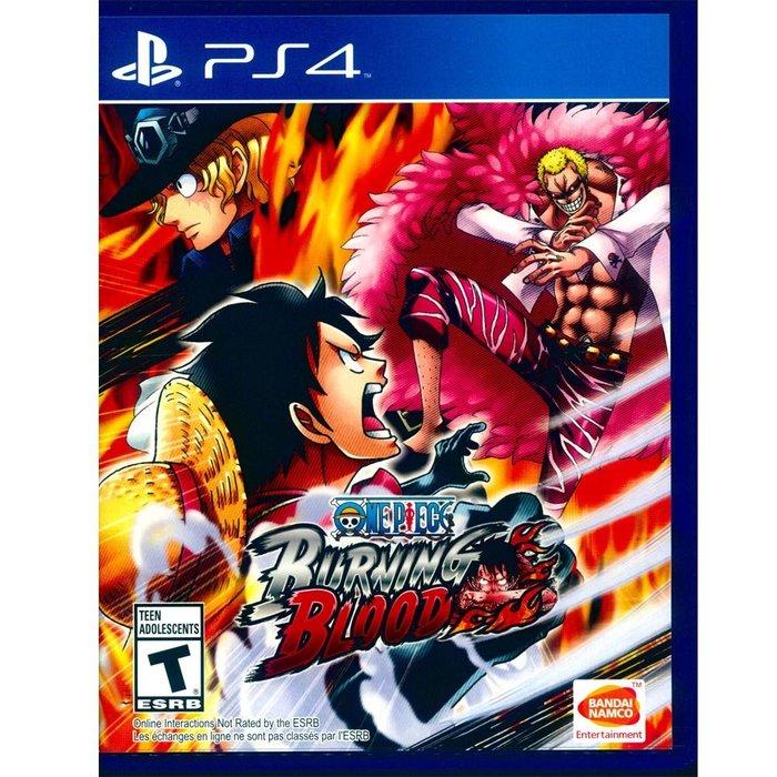 (二手) PS4 航海王 烈血 英文美版 One Piece: Burning Blood