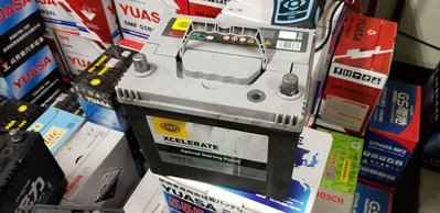 (鶯歌中古電池) XCELEREAT 55D23L-MFZ 免保養汽車電池 數值漂亮,品項優 新北市
