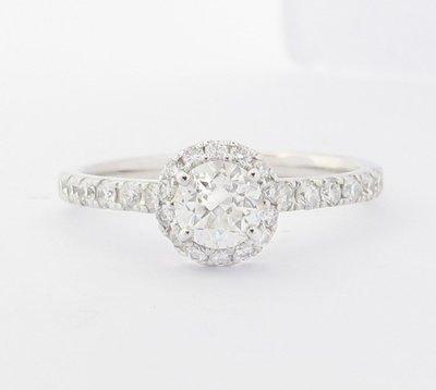 【JHT 金宏總珠寶/GIA鑽石專賣】0.50ct天然鑽石戒指/材質:PT900(JB47-A17)