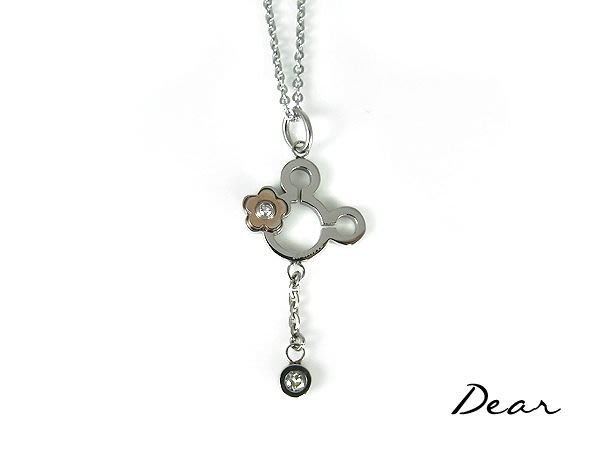 ◎【 Dear Jewelry 】◎Disney迪士尼授權正品│米妮316L墬鍊│生日禮物-----免運
