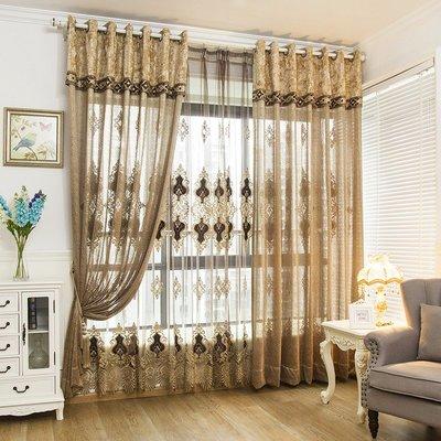 熱賣客廳窗簾定制創意窗紗隔斷書房餐廳落...