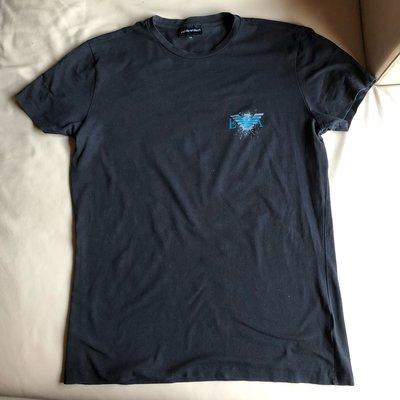 [品味人生2] 保證全新正品 Emporio Armani EA 黑色  短袖 T恤 短T size XXL 適合L 台北市