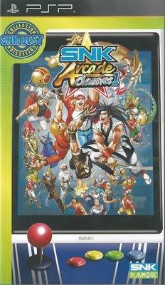 【二手遊戲】PSP SNK經典大型電玩合輯1 SNK ARCADE CLASSICS VOLU1 英文版 台中恐龍電玩
