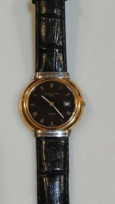 Christian Dior 中性古董錶錶面徑約3.3cm