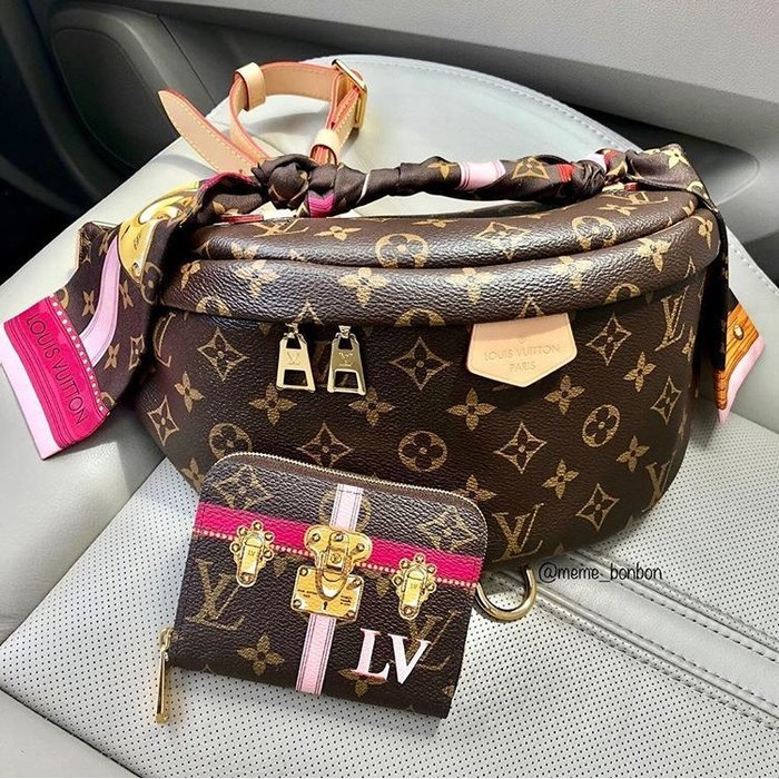 Louis Vuitton M43644 Monogram 腰包 焦糖/駝