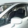 比德堡崁入式晴雨窗 日產NISSAN NEW TIIDA/5D 2013年起專用 (全車四片價)