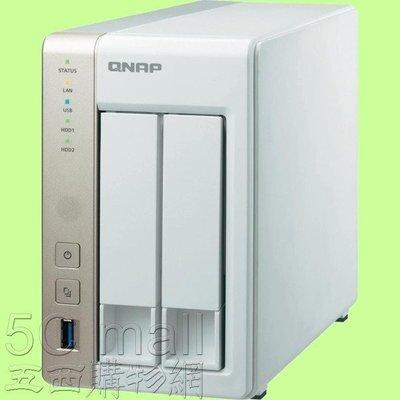 5Cgo 【權宇】QNAP TS-231+ TS-231 PLUS+ NAS 4TB *2 網路儲存設不包含硬碟 含稅