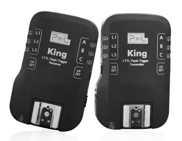 呈現攝影-品色 King N 無線閃燈觸發器 Nikon用 iTTL喚醒 分組 相機選單 TR-331二代 離機閃王