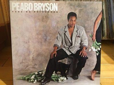 PEABO BRYSON/TAKE NO PRISONERS 西洋 黑膠唱片 日版