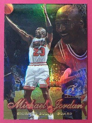 1997-98 Flair Showcase Row 2 Michael Jordan Chicago Bulls