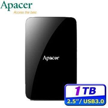 [信達電腦] Apacer宇瞻 AC233 1TB 行動硬碟 USB3.0 2.5吋 1T 外接硬碟