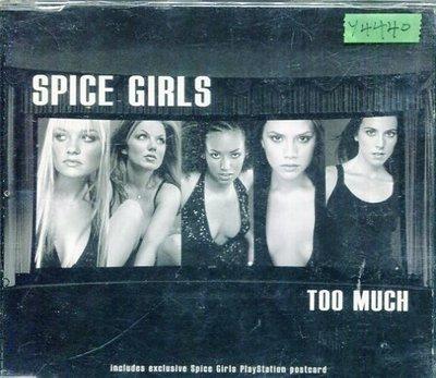 *還有唱片行* SPICE GIRLS / TOO MUCH 二手 Y4440