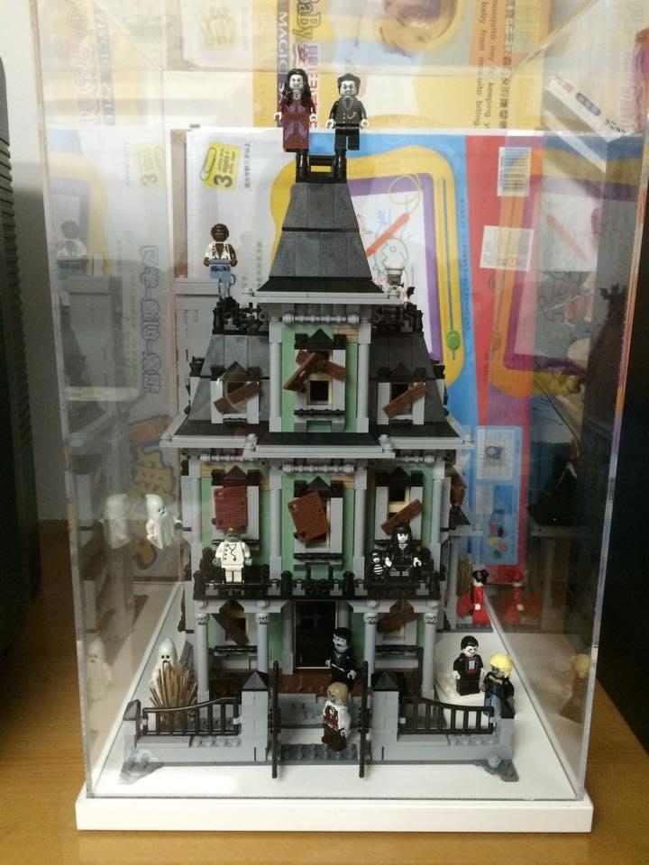 【一品櫃】LEGO 10228鬼屋專用壓克力盒 10246/10243等 街景可放 壓克力盒/樂高展示盒/LEGO展示盒