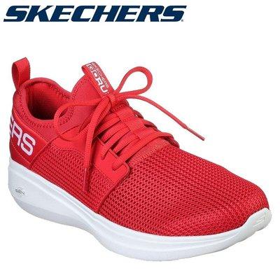 【憲憲之家】SKECHERS 男 慢跑鞋 健走鞋 GO RUN FAST(55103RED)