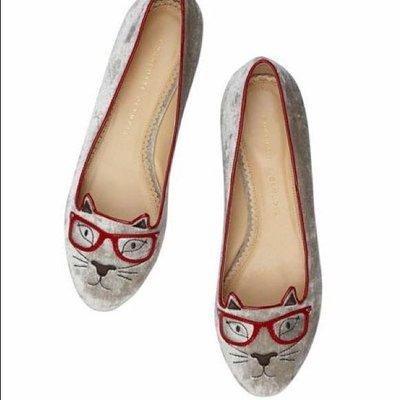 charlotte olympia貓咪鞋 娃娃鞋