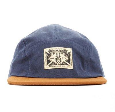 【REBEL8】TRIUMPHANT WE FLY 5 PANEL (藍色)五片帽