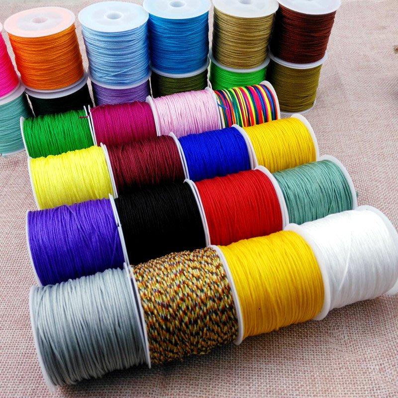 特價飾品-小桶72號玉線 diy手工編織材料 中國結線材編織線繩子手鏈項鏈繩(200元起購)