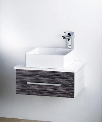 凱薩LF-5252高級浴櫃+日本精密陶...