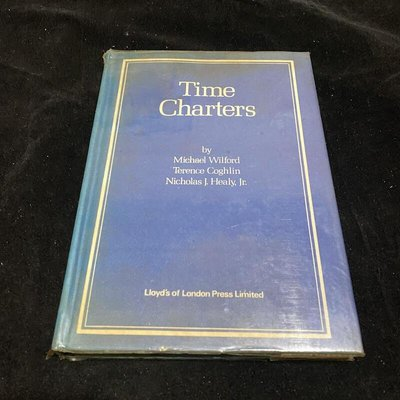 二手老書 1980年 Time Charters / Michael Wilford / lo
