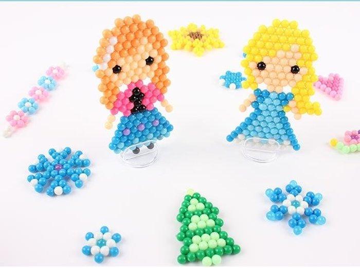 水霧神奇魔法珠玩具兒童diy手工制作拼豆女孩玩具神奇魔珠套裝第