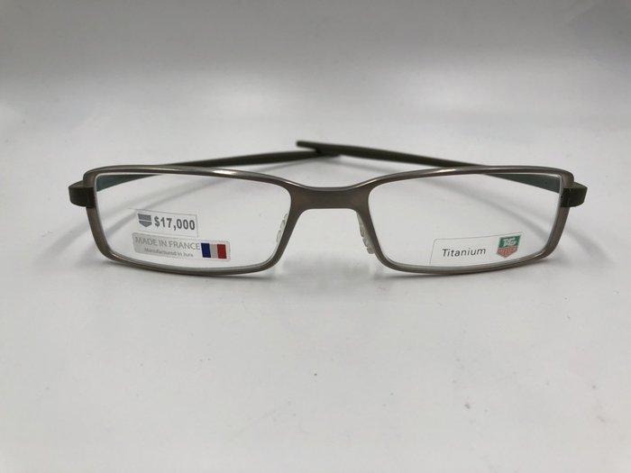 頂傑 TAG HEUER 輕鬆簡約眼鏡 - TA 3703-003
