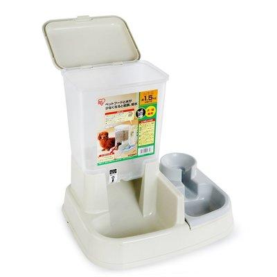 【寵物王國-貓館】日本IRIS-JQ-350自動給食器(白色)
